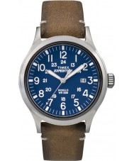 Timex TW4B01800 Mens expedição analógico elevado tan couro pulseira de relógio