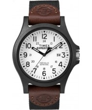 Timex TW4B08200 Mens expedição tecido marrom relógio de pulseira