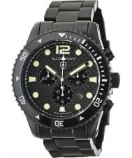Elliot Brown 929-002-B03 Mens bloxworth relógio cronógrafo de fibra de carbono preto
