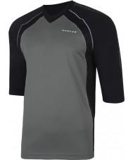 Dare2b Homens marcados na camiseta de camiseta preta smokey