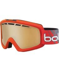 Bolle 21464 Nova ii fosco gradiente vermelho - modulador óculos de citrus arma de esqui