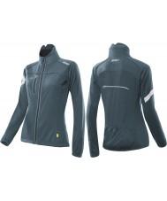 2XU WC2452A-TTL-S Ladies teal tecnologia Sub Zero 360 jaqueta de ciclo - tamanho s