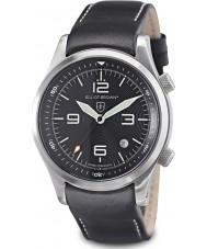 Elliot Brown 202-012-L02 edição dos homens de resgate de montanha Canford relógio preto com cinta de nylon adicionais tecido preto balístico