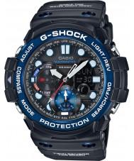 Casio GN-1000B-1AER gráfico de g-choque gulfmaster maré dos homens e relógio preto lua idade