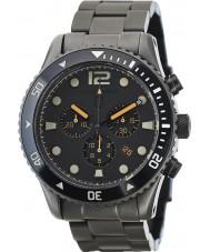 Elliot Brown 929-004-B05 Mens bloxworth cinza relógio cronógrafo de aço ip