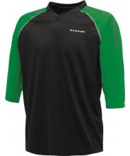 Dare2b Homens marcados em camiseta de camiseta verde preta
