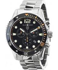 Elliot Brown 929-005-B01 Mens bloxworth prata relógio cronógrafo de aço
