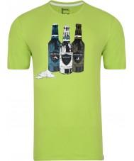 Dare2b T-shirt verde limão para homens