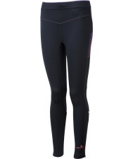 Ronhill RH-001901R292-16 Mulheres Vizion fluo preto collants stretch rosa - tamanho uk 16 (xl)
