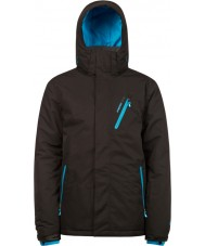 Protest 6710462-290-M Mens vingador verdadeiro jaqueta de neve negra - tamanho m