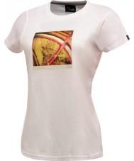 Dare2b As senhoras tomam duas t-shirts brancas