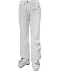 Helly Hansen Ladies legendárias calças de esqui brancas