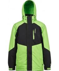 Protest 6811162-659-116 Meninos bonk júnior folha verde jaqueta de neve - 6 anos (116 cm)