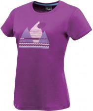 Dare2b T-shirt roxo para senhoras break of day performance