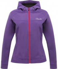 Dare2b DWL121-1KM16L Ladies leviandade roxo real softshell jacket - tamanho uk 16 (xl)