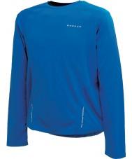 Dare2b Mens relé skydiver azul manga comprida top