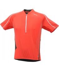 Dare2b T-shirt de jersey vermelho flamejante offshot