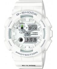 Casio GAX-100A-7AER Mens g-shock tempo do mundo relógio combi branco