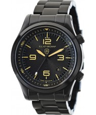 Elliot Brown 202-002-B04 Mens Canford negra ip relógio pulseira de aço
