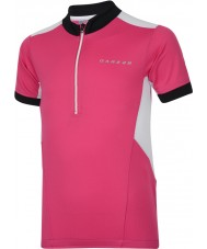 Dare2b DKT018-1Z0034 Crianças hotfoot t-shirt camisola rosa elétrica - 34 polegadas