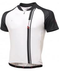 Dare2b DMT093-7P570-L Mens aep preto e branco camisa de manga curta t-shirt top - tamanho l