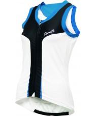 Dare2b DWT112-90018L Ladies rolo aep camisa branca top - tamanho XL (18)