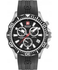 Swiss Military 6-4305-04-007 Relógio de patrulha dos homens