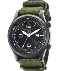 Elliot Brown 202-004-N01 Mens Canford verde pulseira de relógio de tecido
