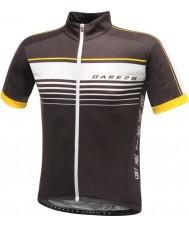 Dare2b DMT133-80040-XS Mens coragem t-shirt camisa preta - tamanho xs
