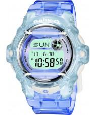 Casio BG-169R-6ER Baby-g Telememo 25 azul um relógio digital