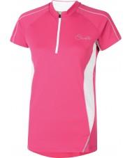 Dare2b T-shirt cor-de-rosa elétrico das senhoras