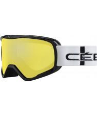 Cebe CBG50 Striker l laranja quadriculada - laranja espelho flash de óculos de esqui