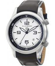 Elliot Brown 202-005-L02 Mens Canford pulseira de relógio de couro preto