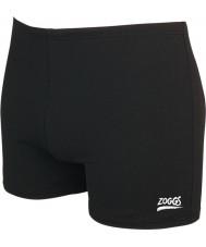 Zoggs 59408030 hip piloto troncos negros de natação dos homens Cottesloe - tamanho 30