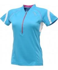 Dare2b DWT078-3FN12L Ladies atualizado camisa azul t-shirt - tamanho s (12)