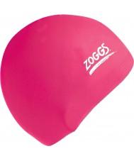 Zoggs 300604-PNK cap silicone rosa