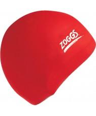 Zoggs 300604-RED cap silicone vermelho