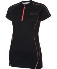 Dare2b DWT148-80008L Ladies revel t-shirt preto - xxs tamanho (8)