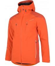 Dare2b DMW118-07G95-XXXL Mens abóbora fiel jaqueta impermeável laranja - tamanho XXXL