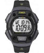Timex TW5M09500 Mens resina preta ironman pulseira de relógio