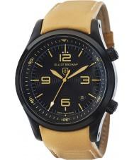 Elliot Brown 202-008-L04 Mens Canford tan pulseira de relógio de couro