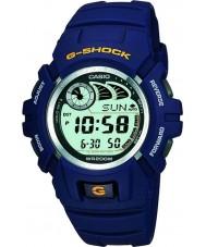 Casio G-2900F-2VER relógio azul dos homens g-choque e-banco de dados