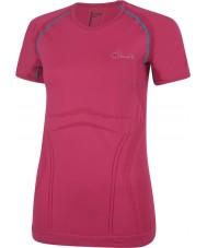 Dare2b Senhoras mechem t-shirt rosa elétrico