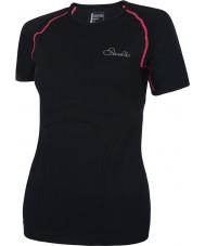 Dare2b Ladies Mollify Black T-Shirt