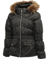 Dare2b DGP017-800C03 Meninas encantadoras jaqueta preta - 3-4 anos