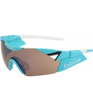 Bolle 6th Sense s brilhante modulador rosa azul óculos de arma