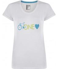 Dare2b Ladies one love white t-shirt