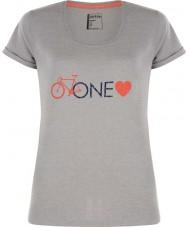Dare2b DWT319-81I16L Ladies um amor cinzas marga t-shirt - o tamanho uk 16 (xl)
