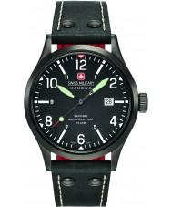 Swiss Military 6-4280-13-007-07 Mens à paisana pulseira de relógio de couro preto