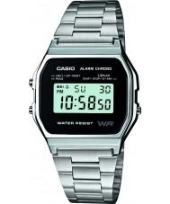 Casio A158WEA-1EF relógio coleção Mens